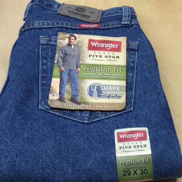 Wrangler Other - Wrangler blue Jeans 29x30 NWT men's